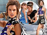 Alessandra Ambrosio smoulders on Chanel shoot