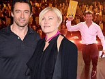 Not a bad way to spend your birthday! Hugh Jackman sings, dances and bares his claws for benefit performance in Los Angeles