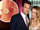 He wed, she wed! Lauren Conrad announces her engagement hours after ex-boyfriend Jason Wahler marries model Ashley Slack