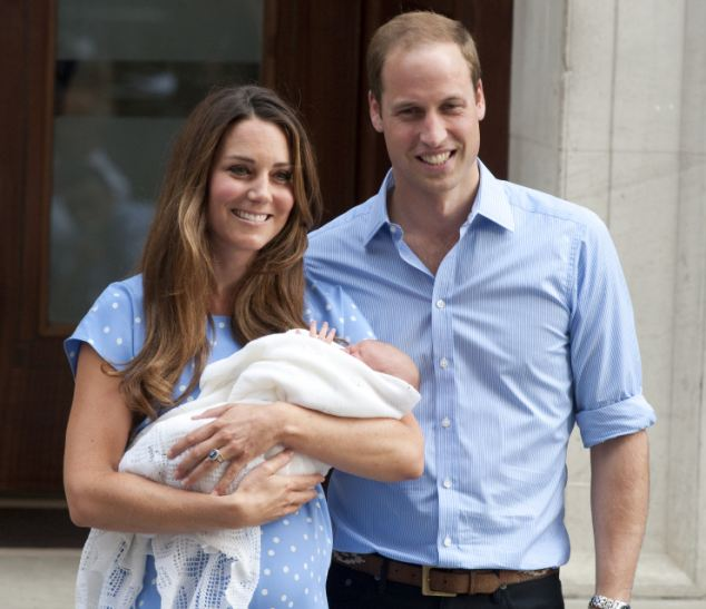 The Duke and Duchess of Cambridge plan to choose university and school friends as godparents to Prince George