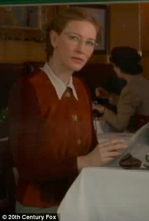 Bonjour: Cate can be seen pulling off a French accent to play Rose Valland in the movie