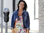 To to celebrate! Pregnant Jennifer Love Hewitt had a 'very girly' baby shower at Hotel Bel-Air on Saturday