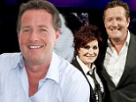 'She was in a frisky mood': Piers Morgan reveals Sharon Osborne once flashed her breast at him on private jet