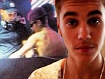 I moustache you a question! Justin Bieber argues with DJ after he refuses to play hip-hop.... and unveils new facial hair