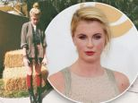 Harvest swoon! Blonde beauty Ireland Baldwin tweets out pic of herself wearing fall colors