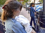 Penelope Cruz takes baby Luna as her date to pal's birthday party