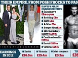Their empire from posh frocks to pants