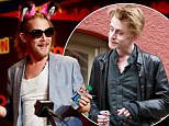 Macaulay Culkin looks on fine form as he attends Comic Con 2013