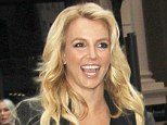 Britney laughs