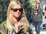 Trying to blend in? Nicky Hilton wears camouflage jacket while out and about in New York City
