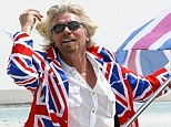 Career: Sir Richard Branson's biographer Tom Bower says the millionaire has been obsessed with money since he was 19 years old