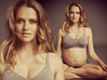 Teresa Palmer's husband post pic of his pregnant wife on instagram.