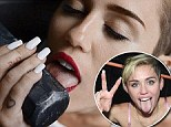 Put it away Miley! Is star's slimy tongue giving away her health secrets?
