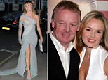 Amanda Holden says she was sexually assaulted by a celebrity while she was married to TV presenter Les Dennis (right)