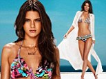Next stop Victoria's Secret! Kendall Jenner frolics poolside in array of swimwear for flirty new campaign