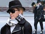 An ode to the King of Pop? Madonna wears outfit reminiscent of Michael Jackson for a trip to The Kabbalah Centre