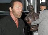 Arnie bust