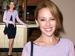 Single and ready to mingle! Kylie Minogue puts on a brave face as she steps out for the first time after split from Andres Velencoso