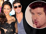 'I wrote it about my wife': Robin Thicke defends 'rapey' song Blurred Lines claiming it was composed with Paula Patton in mind
