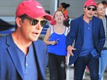 Michael J Fox is back to the beat as he lands in New York City with his family after relaxing vacation