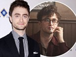 Cover boy: Daniel Radcliffe graced the cover of Flaunt magazine's November issue and opened up about filming his new movie Kill Your Darlings