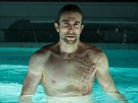 The villain: Sharlto Copley pictured in new still from Oldboy, the Spike Lee remake of the 2003 Korean film