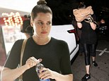 Khloe Kardashian sports make-up and wedding ring free look as she boxes up a storm with Kendall Jenner