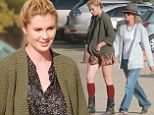 Ireland Baldwin celebrates 'an early Halloween' by picking out pumpkins with her mom Kim Basinger