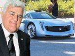 Car crazy: Jay Leno has over 100 vehicles in his impressive fleet of classic and modern cars and his ethos is he drives them all