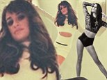 Brave Lea Michele shares a stunning behind the scenes snap from her debut album cover following Cory Monteith Glee tribute