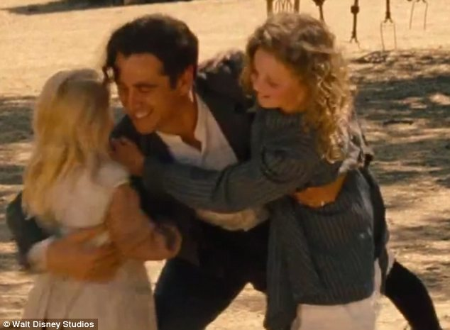 A Disney film with a difference: Colin can next be seen in Saving Mr Banks, the movie about the production of Mary Poppins and Walt Disney's struggle to persuade author P.L. Travers to sell him the rights to it