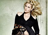'Do you even know how to take a photograph?' Kate Winslet ribbed the great Mario Testino as he took this portrait for Vogue US November edition