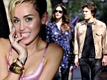 'She's in completely in lust with him!' Miley Cyrus 'definitely dating' Liv Tyler's toyboy ex and Rolling Stone heir Leo Wenner