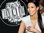 Kim Kardashian's 20-carat engagement ring from failed marriage to Kris Humphries sells at auction for $620,000