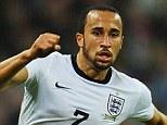 Wing wonder: England wide man Andros Townsend evades Poland's Kamil Glik