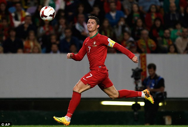 Big loss: Ronaldo and Portugal will have to qualify through the play-offs for the third tournament running