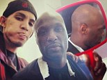 Cleaned up? Lamar Odom looks healthier as he gets his head shaved before 'meeting with the Lakers now that he's off drugs'