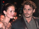 Reunited: Johnny Depp and Kate Moss have reunited to appear in the video for Paul McCartney's new single Queenie Eye