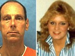 William Happ (right) who killed and raped Angie Crowley (left), 21, in 1986, is scheduled to be executed on Tuesday. Crowley, a popular woman in her Indiana community, had stopped at a convenience store to meet a friend in Florida when Happ attacked her.