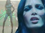 Freida Pinto like you've never seen her before! Lingerie-clad actress writhes around a stripper pole in Bruno Mars' VERY racy Gorilla music video