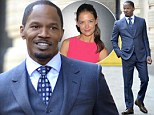 Jamie Foxx denies he is dating Katie Holmes saying the rumours 'are one hundred percent not true'