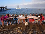 Giant oarfish found off California coast