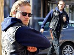 Fifty Shades Of Angry! He quit the role of Christian Grey to avoid public scrutiny but it appears the pressure is getting to Charlie Hunnam