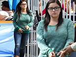 Let's go to prison! Ariel Winter is arrested and jailed at a county fair on set of Modern Family