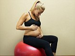 The 'baby gap' is left after giving birth and is where the stomach muscles have separated