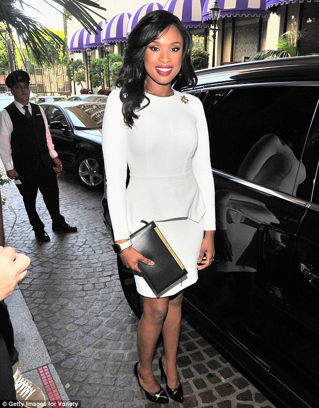 Luxury: The event took place at the luxurious Beverly Wilshire Four Seasons which is known for its prestige