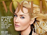 Who's that girl? Kate Winslet is almost unrecognisable on the cover of the November edition of US Vogue magazine