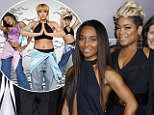 The real story: Celebrities attend VH1's red carpet premiere of 'CrazySexyCool: The TLC Story' in NYC