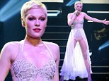 Jessie J wows in a beaded bodysuit as she kicks off first night of her Alive tour in stunning style