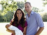 Christening: Prince George was born on July 22 and is third in line to the throne